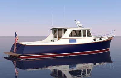 The 48 Express Cruiser Van Gorkom Yacht Design